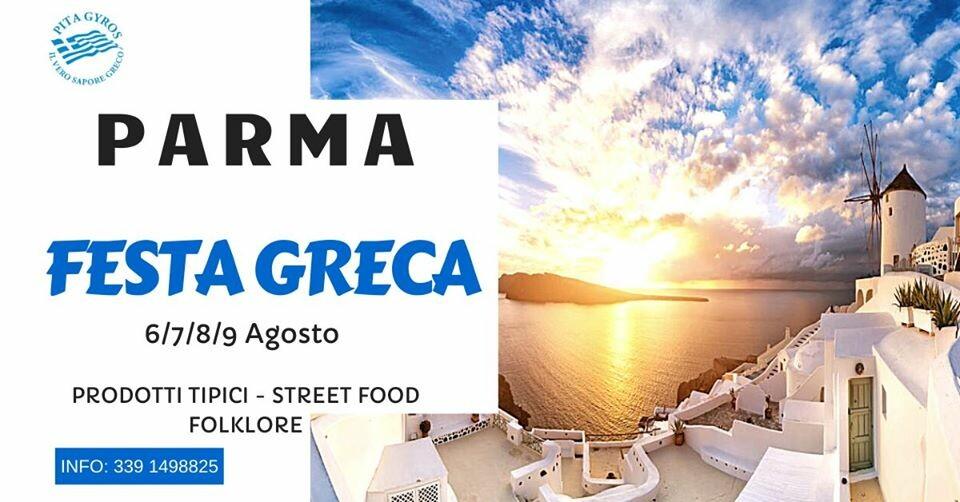 Festa Greca in  piazza Picelli