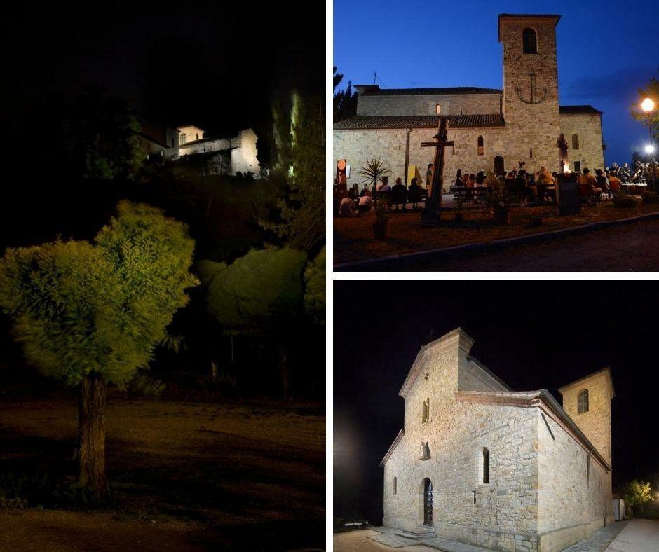 I  Musici di Parma e gli allievi delle classi di violino e viola suonano tra gli affreschi della Pieve San Giovanni a Contignaco