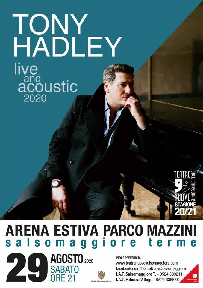 Tony Hadley all'Arena Estiva Parco Mazzini Salsomaggiore