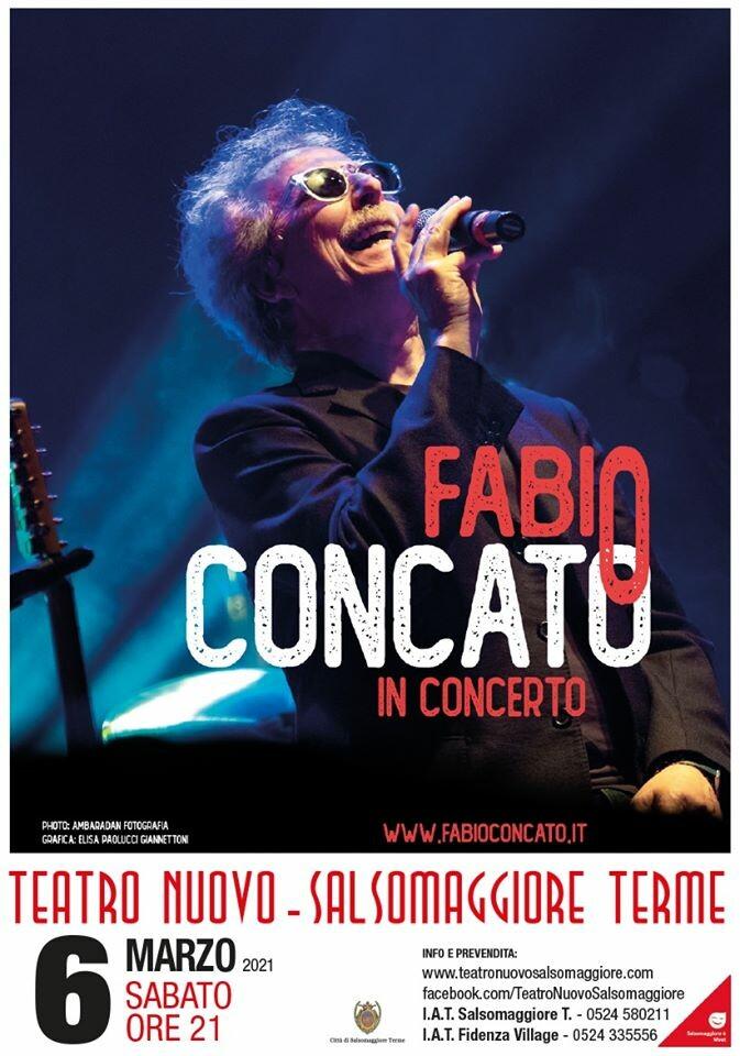 Fabio Concato in Concerto al Teatro Nuovo di Salsomaggiore Terme