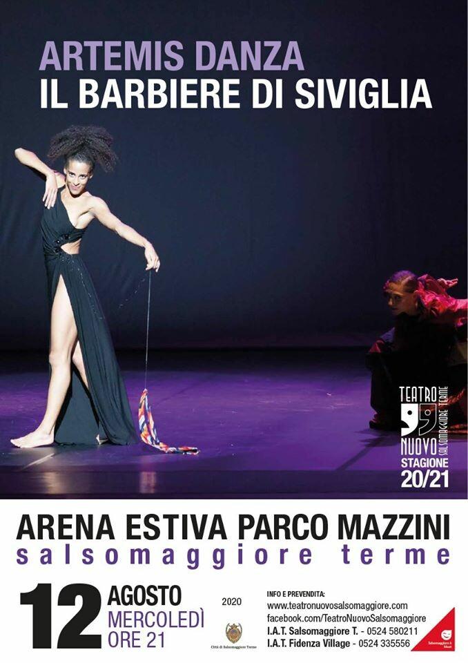 Artemis Danza all'Arena Estiva Parco Mazzini Salsomaggiore