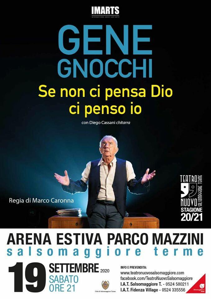 Gene Gnocchi all'Arena Estiva Parco Mazzini Salsomaggiore
