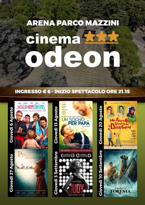 PROGRAMMA CINEMA ODEON all' ARENA PARCO MAZZINI