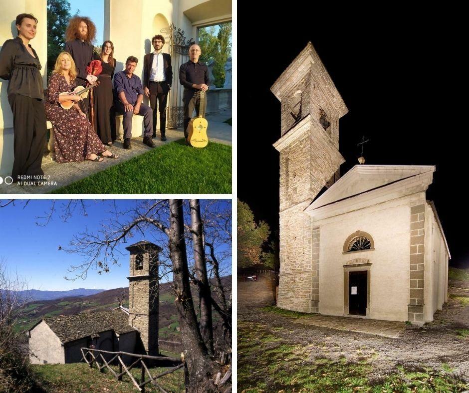 Estate delle Pievi: visita con concerto degli Enerbia alla Chiesa di San Cristoforo di Borgo Val di Taro