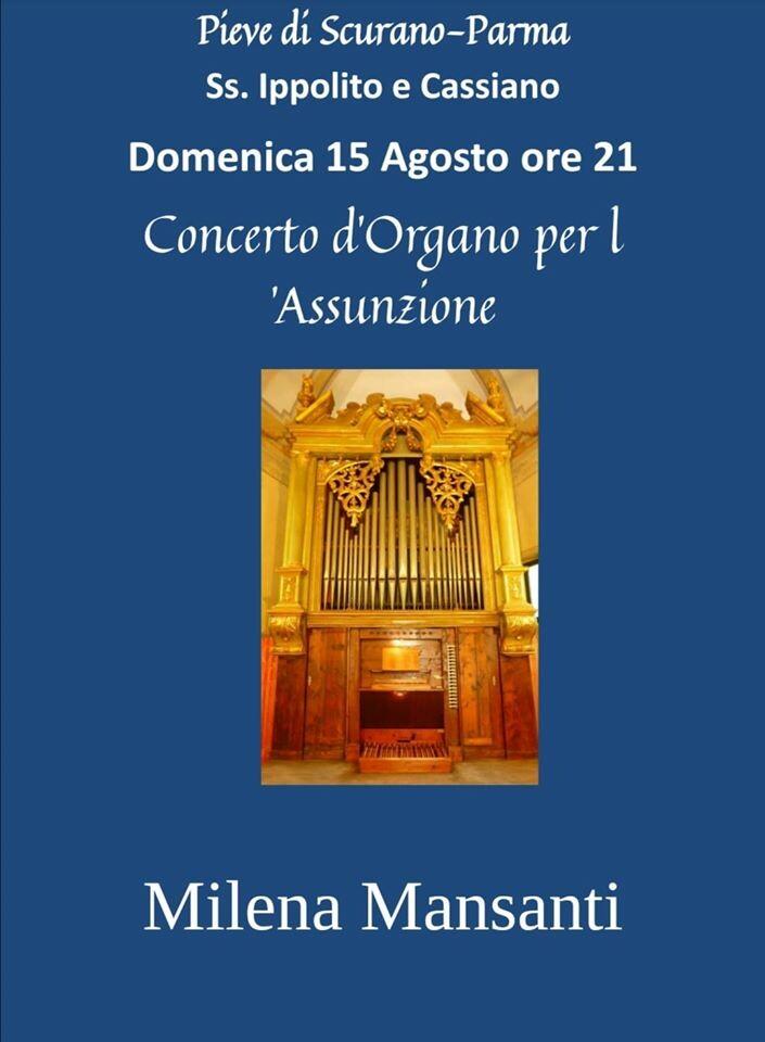 Concerto d'organo per l'Assunzione