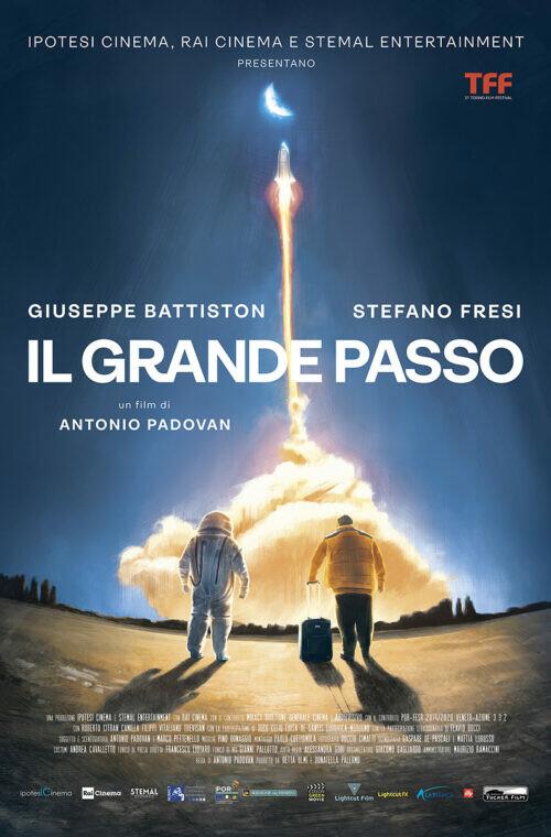 Anteprima: IL GRANDE PASSO  di Antonio Padovan all' Arena estiva del cinema Astra. Sarà presente il regista