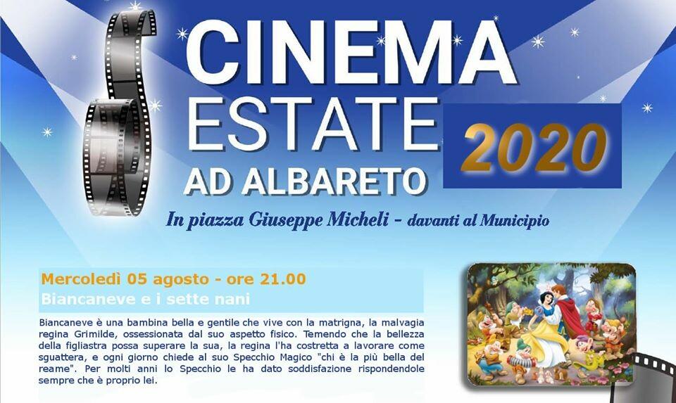 Cinema d'Estate  ad Albareto: Biancaneve e i 7 nani