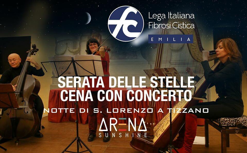 Evento in favore della lotta alla fibrosi cistica: cena con Concerto del Trio Corde Armoniche