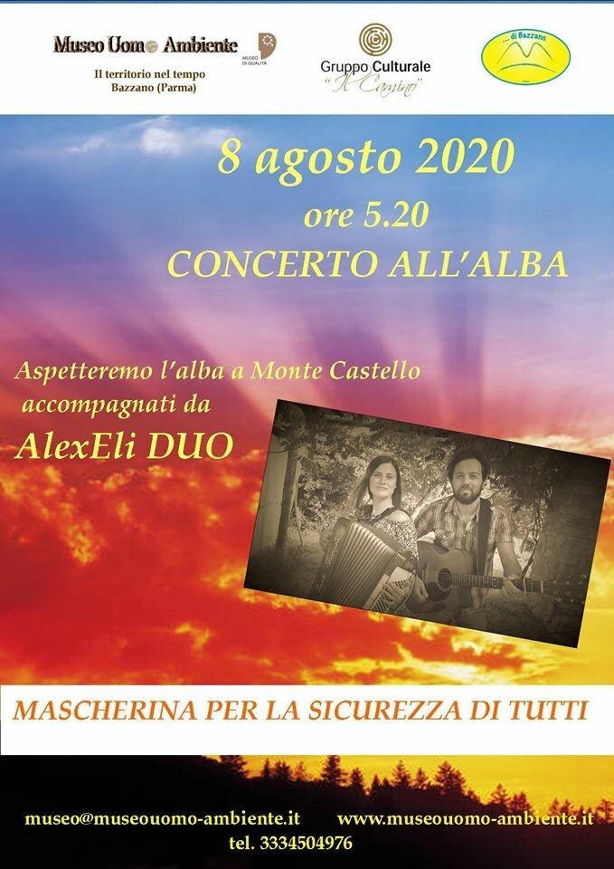 Concerto all'alba a Monte Castello - Bazzano