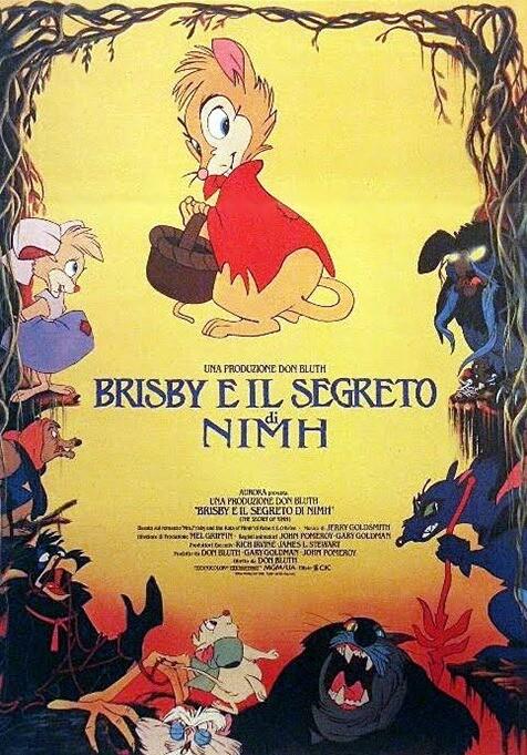 CINEMA AL PARCO 2020: Brisby e il segreto di Nimh (animazione):