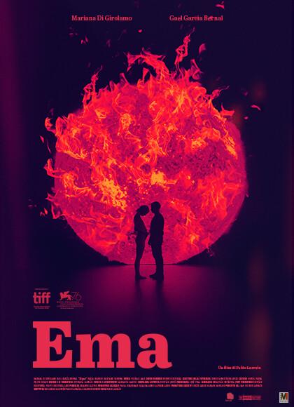 Anteprima:EMA  di Pablo Larrain.all' Arena estiva del cinema Astra.