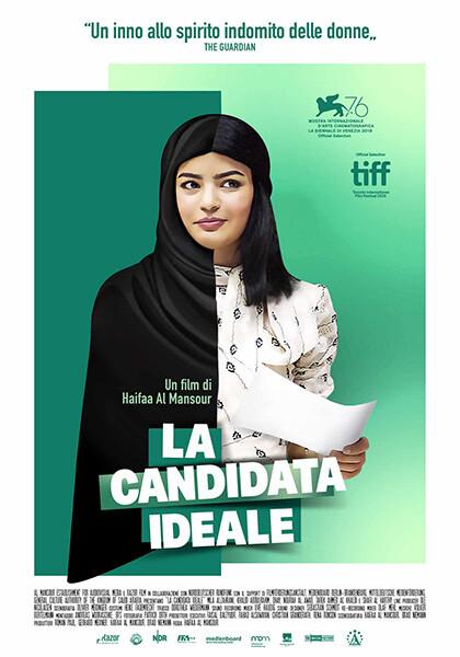 La candidata ideale (anteprima v.o.sott.it)  all' Arena estiva del cinema Astra.