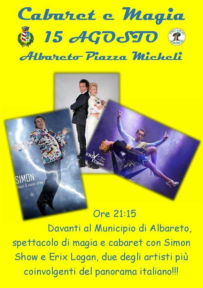 """Cabaret e Magia"" ad Albareto"