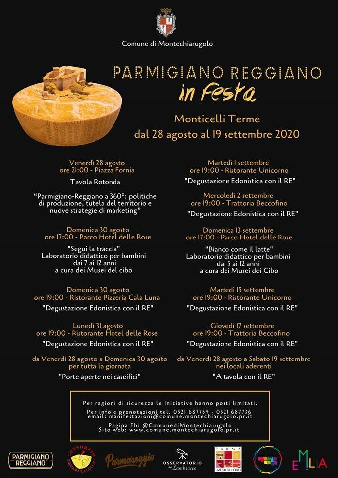 Parmigiano Reggiano in Festa torna in una nuova veste, con tante #iniziative per adulti e bambini