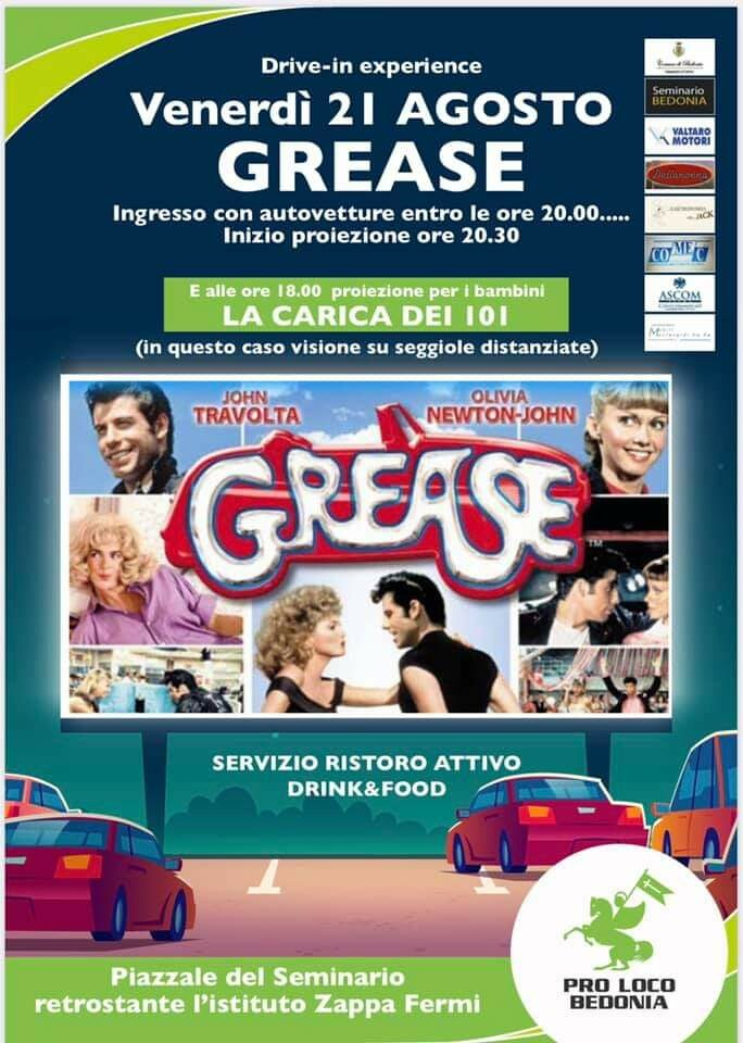 DRIVE-IN EXPERIENCE a Bedonia: Grease