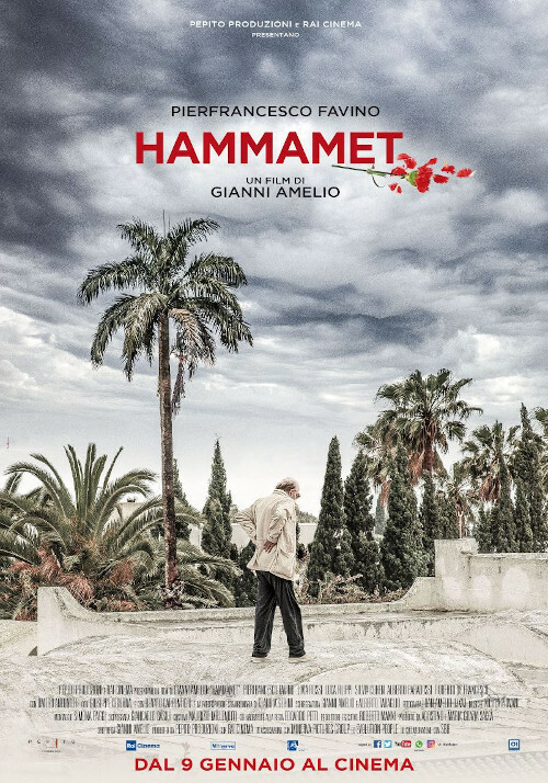 "HAMMAMET    ""Nastro d'Argento""-Miglior attore   all 'ARENA ESTIVA D'AZEGLIO-PARMA"