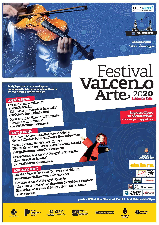 Festival ValcenoArte 2020 – «Echi nella Valle» XVII edizione