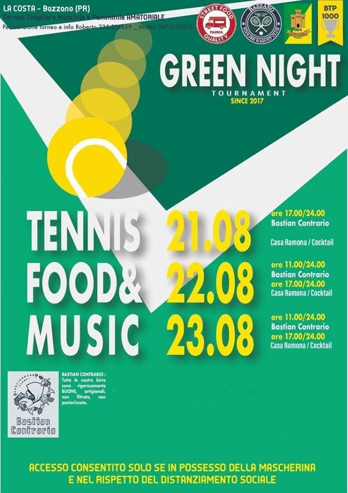 Tennis, food e music col Bastian Contrario a Bazzano
