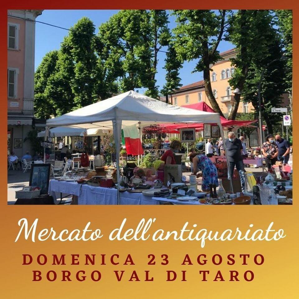 Mercato dell'antiquariato a Borgotaro!