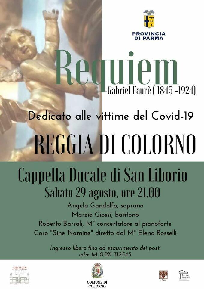 """""""Requiem"""" Concerto per le vittime del Covid-19 e in memoria del Maestro Luigi Roni"""