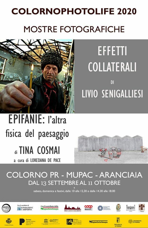 COLORNOPHOTOLIFE  -  Al MUPAC mostre fotografiche di  Livio Senigalliesi e Tina Cosmai