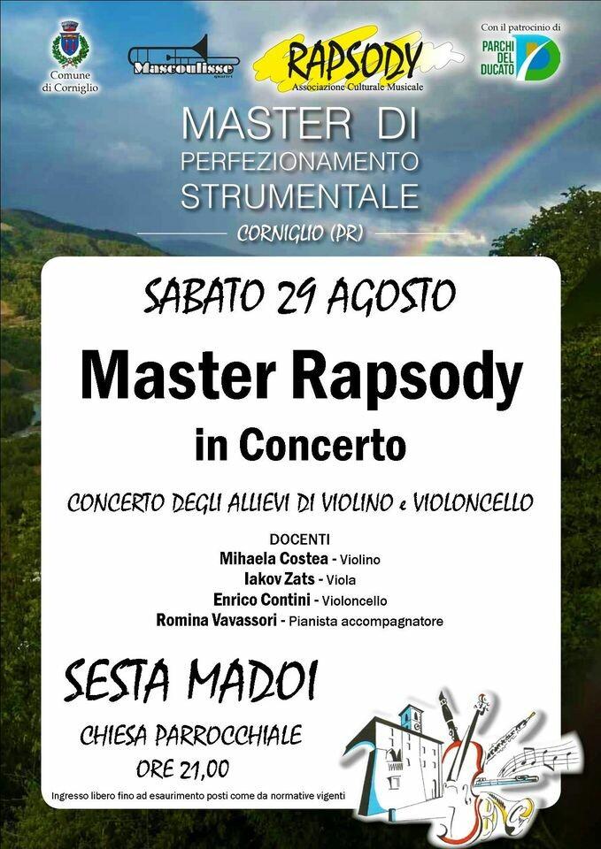 Master Rapsody in concerto a Madoi