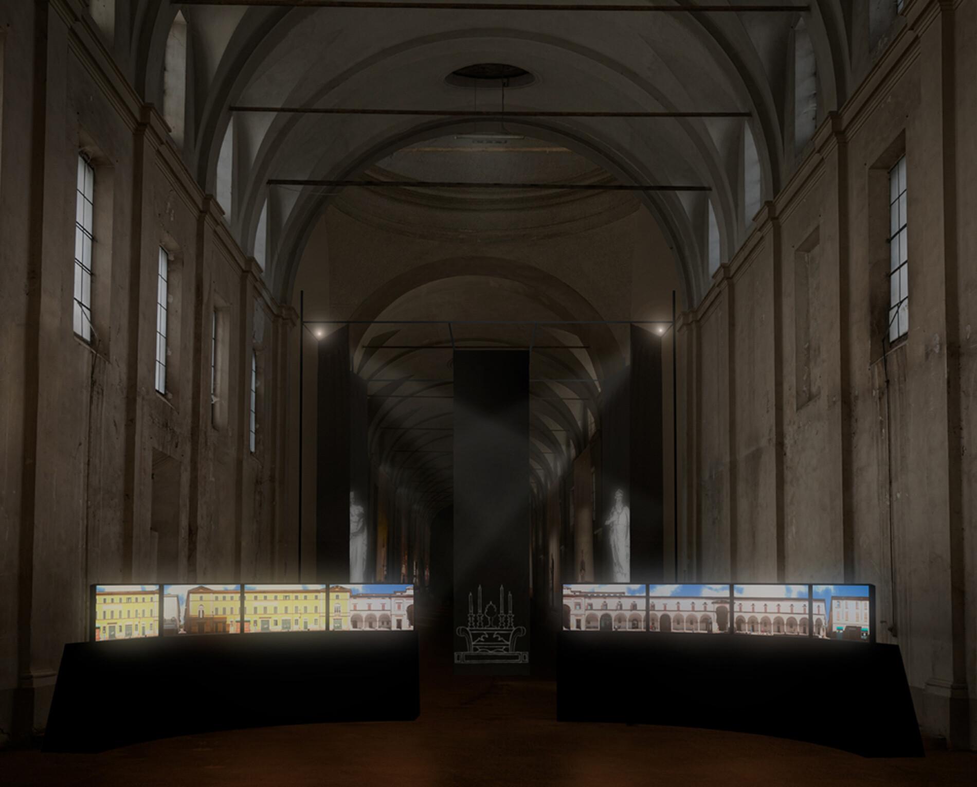 Hospitale - Il futuro della memoria La storia dell'Ospedale Vecchio in un'installazione video per due attori e i loro corpi