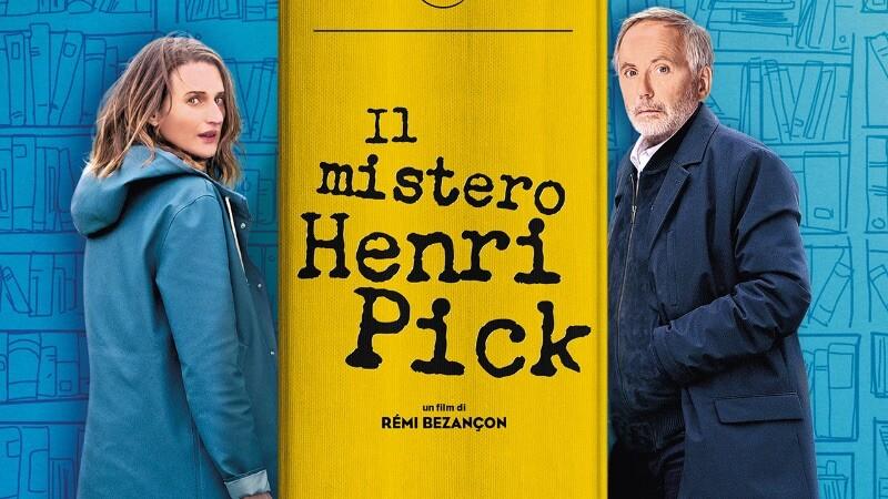 IL MISTERO DI HENRY PICK  di Remi Bezançon. Con:Fabrice Luchini, Camille Cottin  all' Arena estiva del cinema d'Azeglio