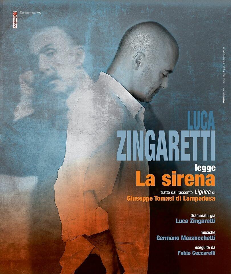 Luca Zingaretti  legge  LA SIRENA  dal racconto Lighea di Giuseppe Tomasi di Lampedusa alla arena Shakespeare