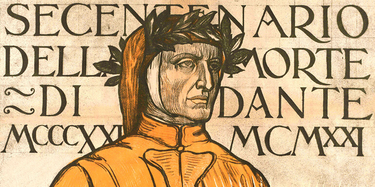 Inclusa est flamma. Ravenna 1921: il Secentenario della morte di Dante in mostra alla Biblioteca Classense di Ravenna