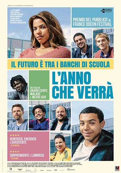 """L'ANNO CHE VERRA' (La vie scolaire)  """"Premio Cesar"""" Miglior promessa all' Arena estiva del cinema Astra."""