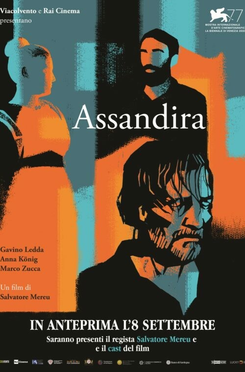 ASSANDIRA (anteprima) all' Arena estiva del cinema Astra.Alla proiezione saranno presenti il regista Salvatore Mereu  e l'interprete Gavino Ledda