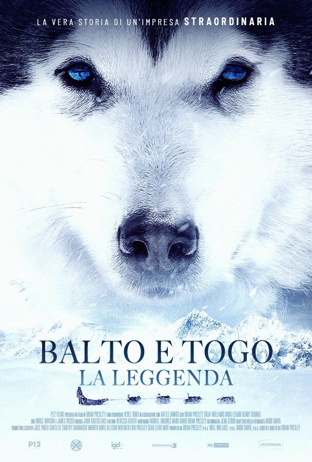 BALTO E TOGO la leggenda   al cinema Cristallo di Borgotaro