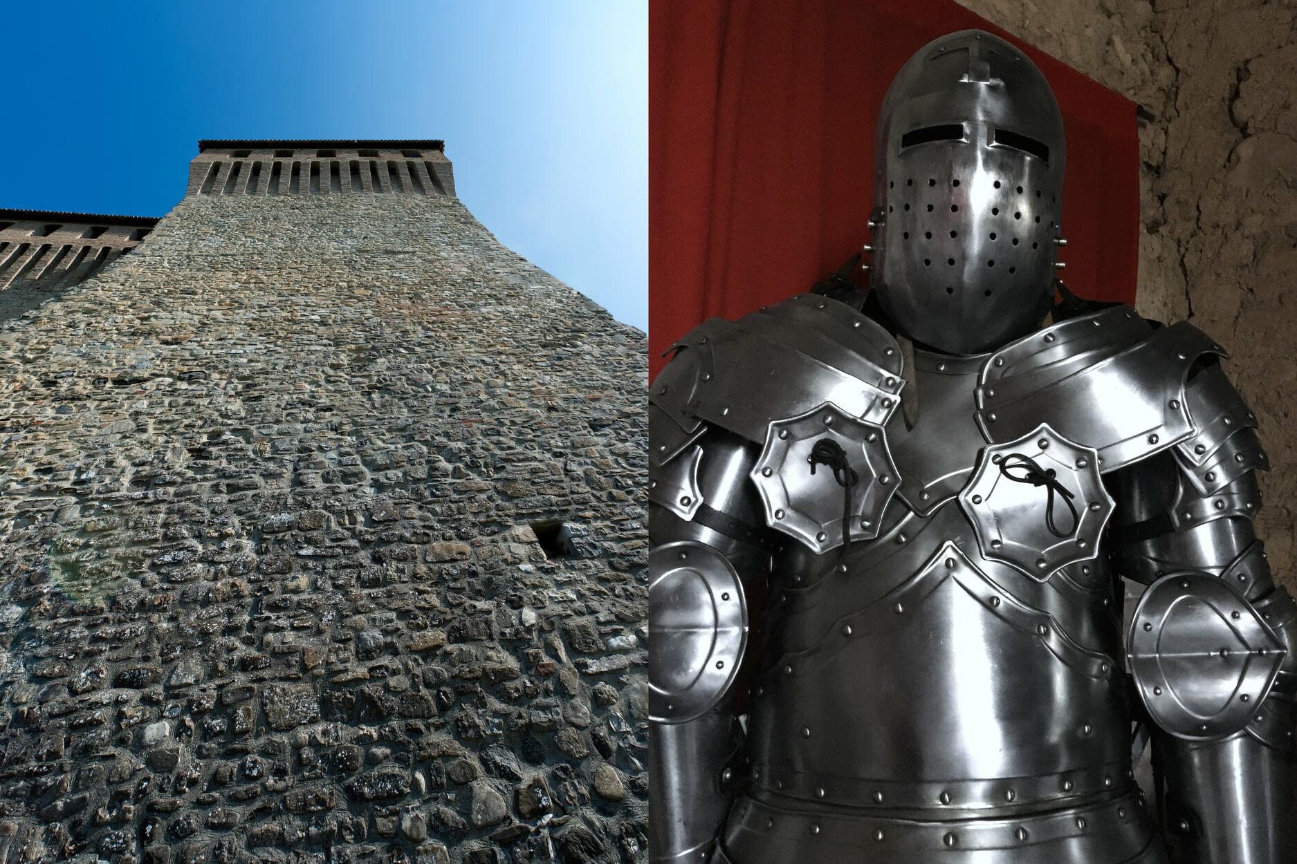 IL MESTIERE DELLA SPADA - CAVALIERI E CASTELLI  al Castello Pallavicino di Varano