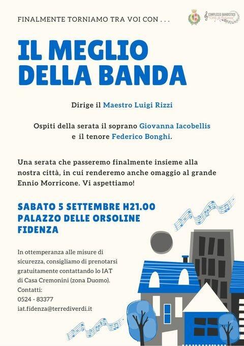 """A Fidenza """"Il meglio della banda"""""""