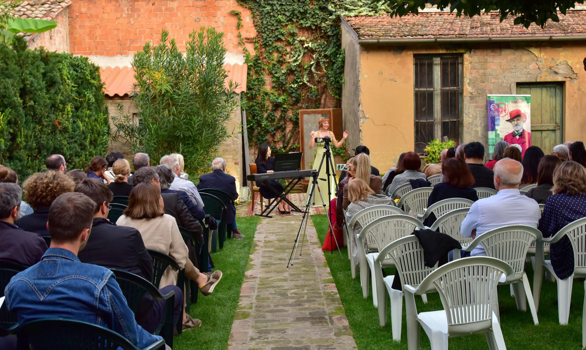 Verdi off: RECITAL IN GIARDINO a Soragna