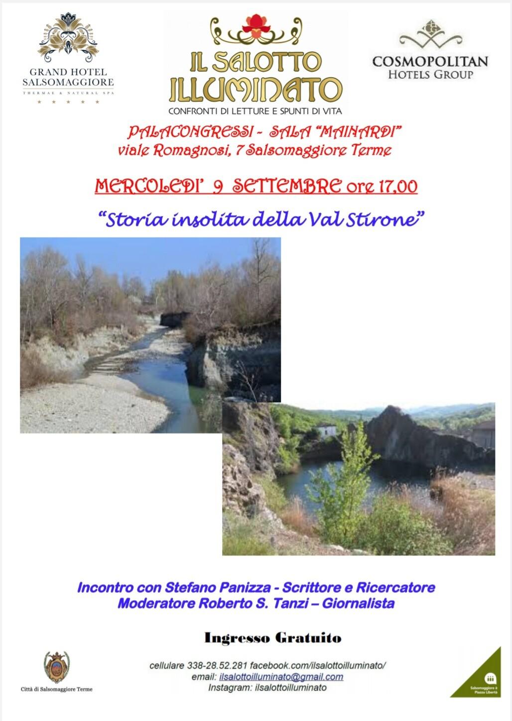 IL SALOTTO ILLUMINATO: Storia insolita della Val Stirone con Stefano Panizza