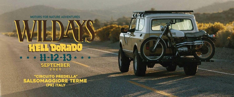 Wildays: sino al 13 settembre   Wildays è un festival dedicato ai motori, alla natura, al food e alla musica. Enduro, Motocross, 4x4, e...
