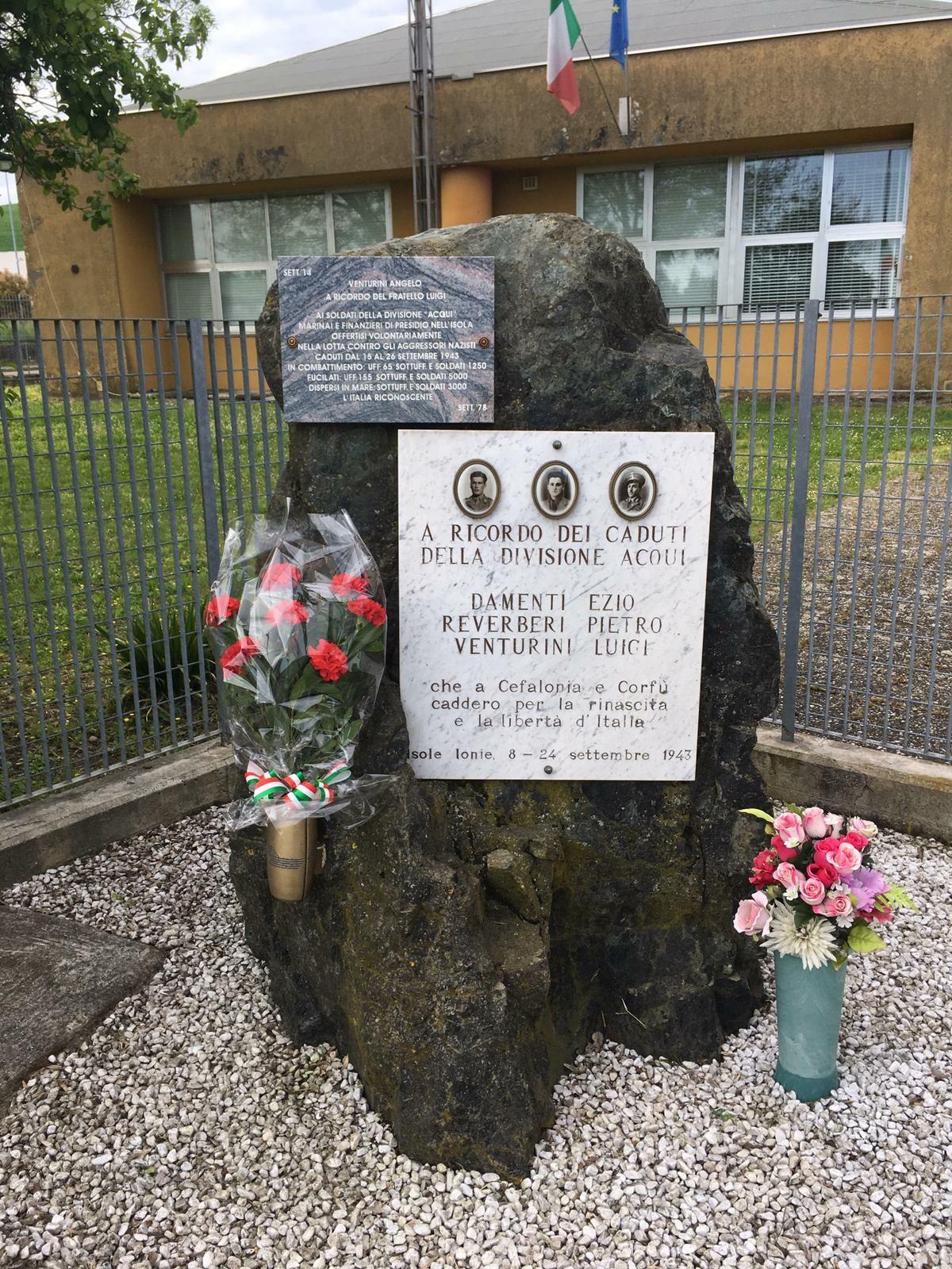 Commemorazione dei Martiri di Cefalonia domenica 13 settembre ore 10 Poggio S.Ilario Baganza