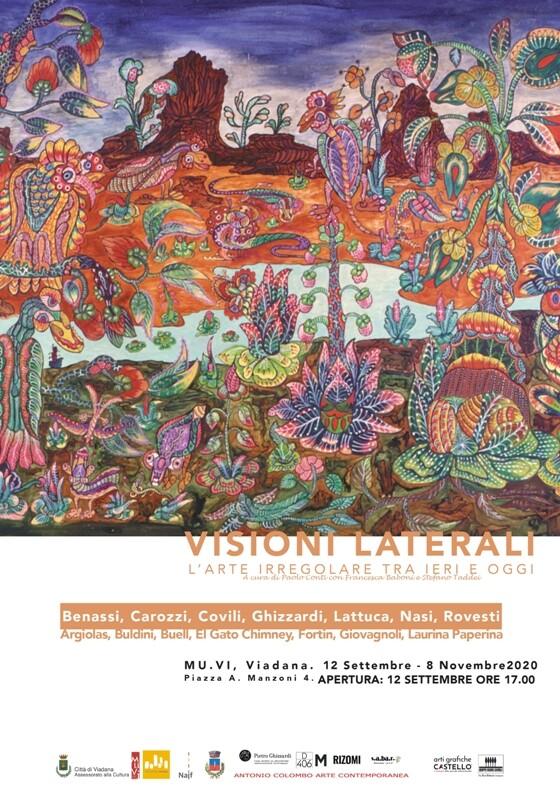 VISIONI LATERALI - L'ARTE IRREGOLARE TRA IERI E OGGI al Mu.Vi di Viadana