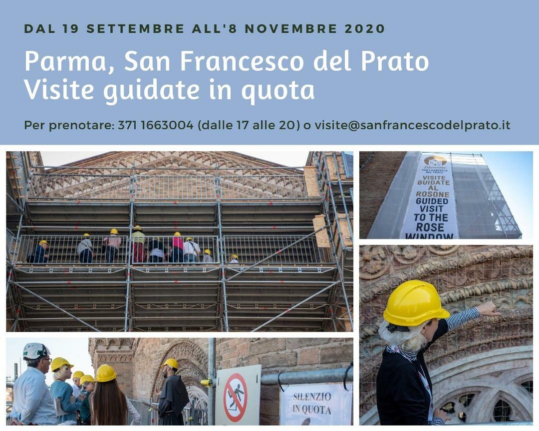 Dall'alto di San Francesco del Prato, visite guidatre in quota