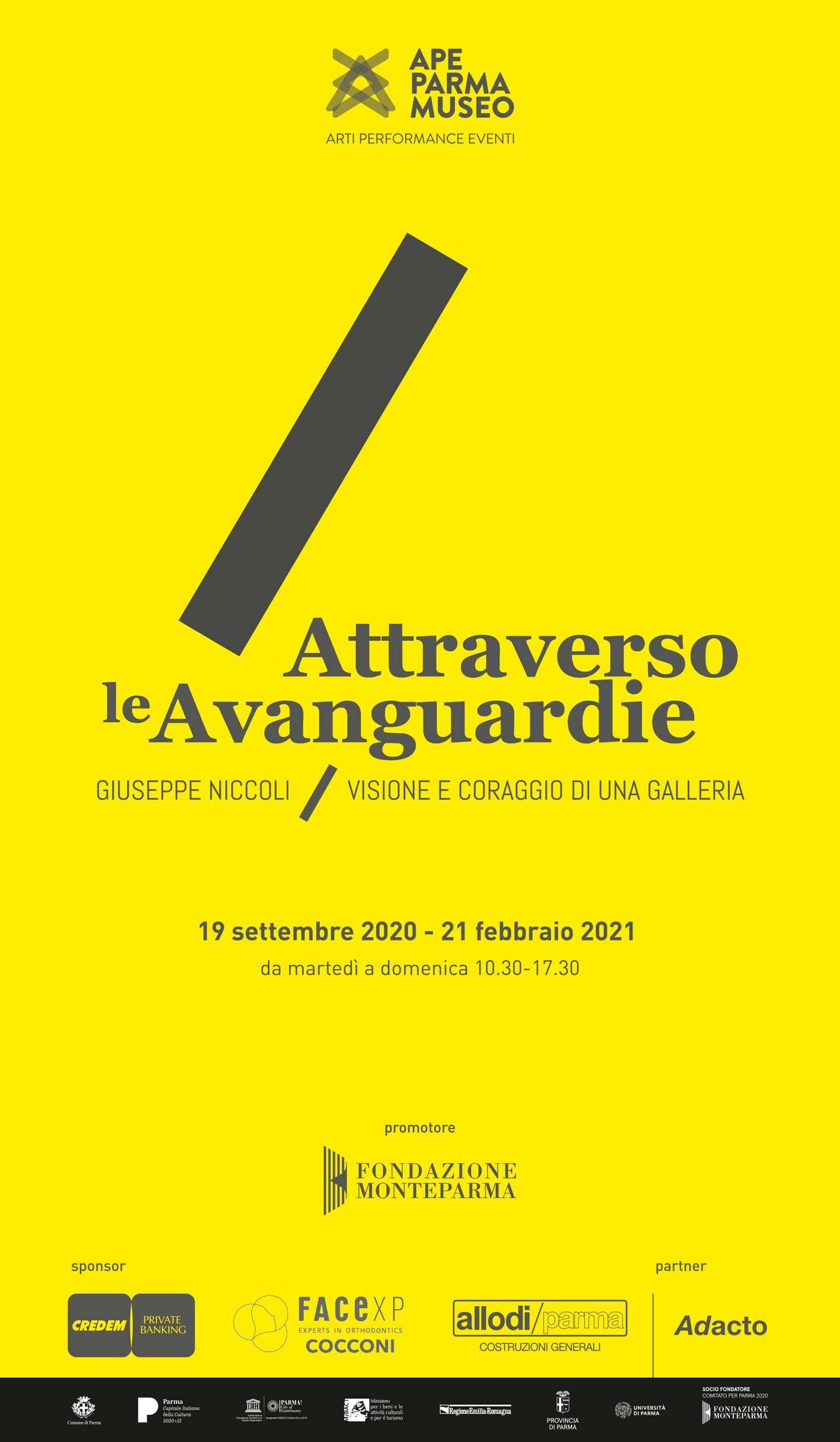 Attraverso le Avanguardie all'APE Parma Museo