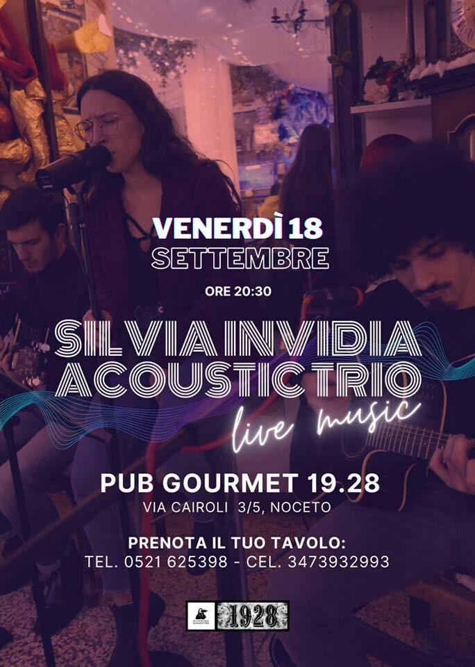 I Venerdì del 19-28 Serata in musica live con Silvia Invidia e la sua band.