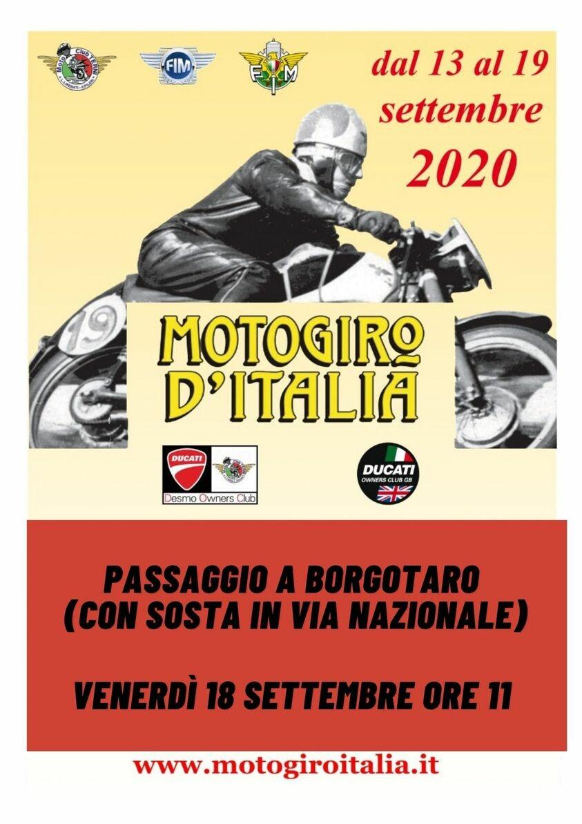 A  Borgotaro il passaggio dell'auto moto giro d'Italia!