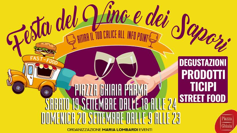 """""""Festa del vino e dei sapori"""" Piazza Ghiaia"""