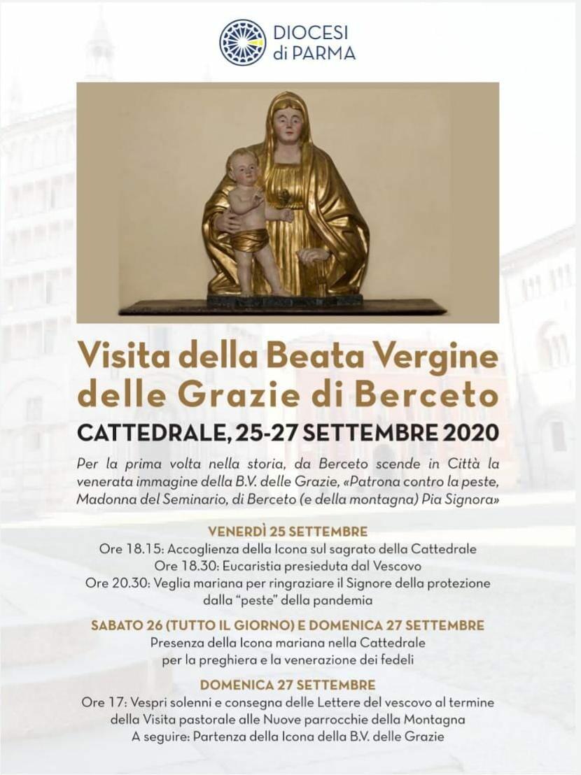 La Beata Vergine delle Grazie di Berceto a Parma