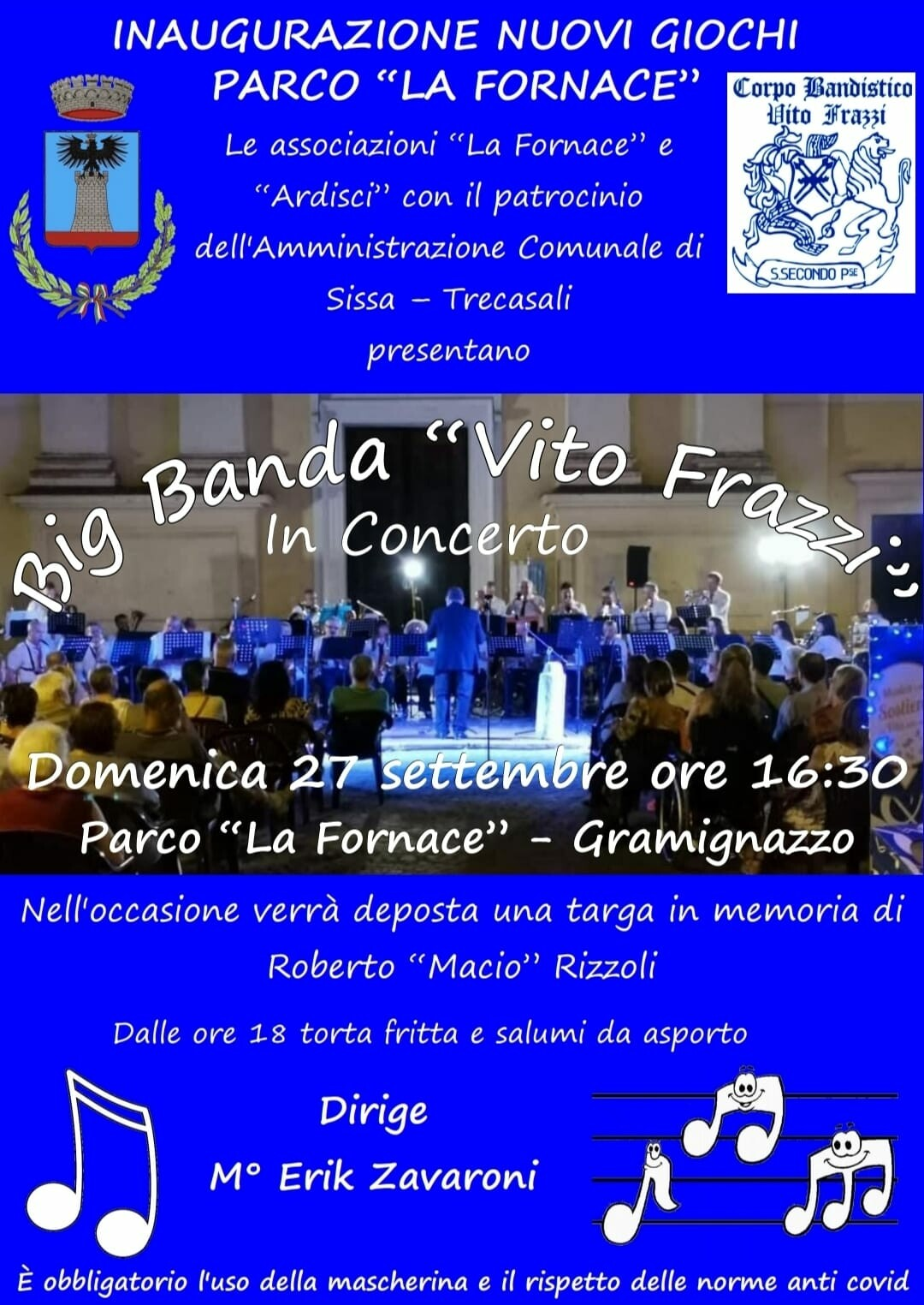 """Festa al al parco """"La Fornace"""" di Gramignazzo"""