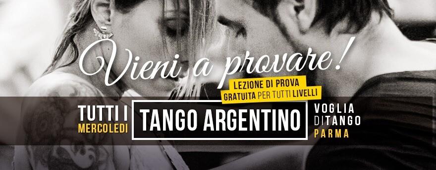 Voglia di tango: prova Gratuita sui Corsi 2020/2021