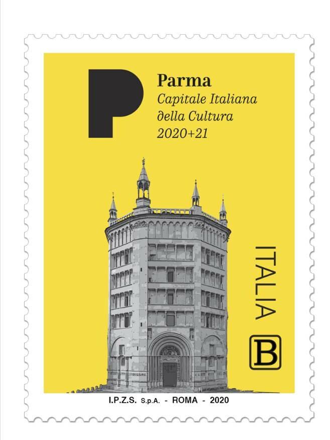 POSTE ITALIANE CELEBRA Parma Capitale Italiana della Cultura 2020+21 Emissione del francobollo celebrativo di Parma Capitale Italiana della Cultura