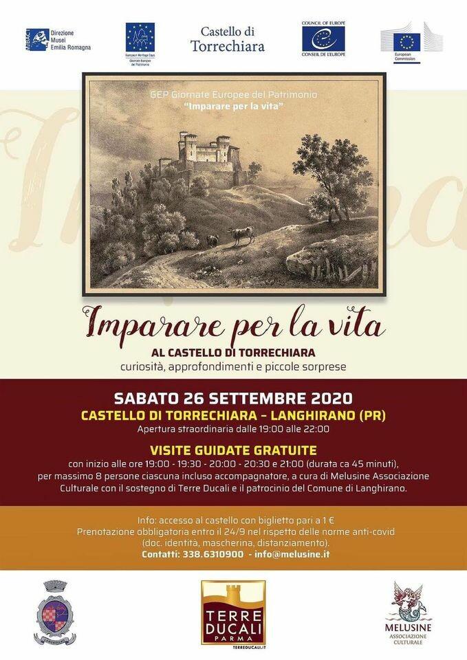 Visite guidate gratuite al Castello di Torrechiara